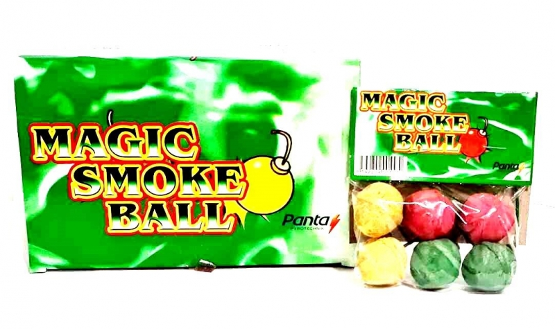 Magic smoke balls 6 kom